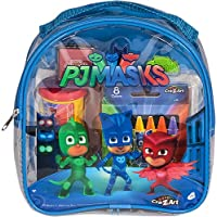 PJ Masks Coloring and Activity Backpack Childrens-Drawing-Pads-and-Books,Colors may vary (Red/Blue)