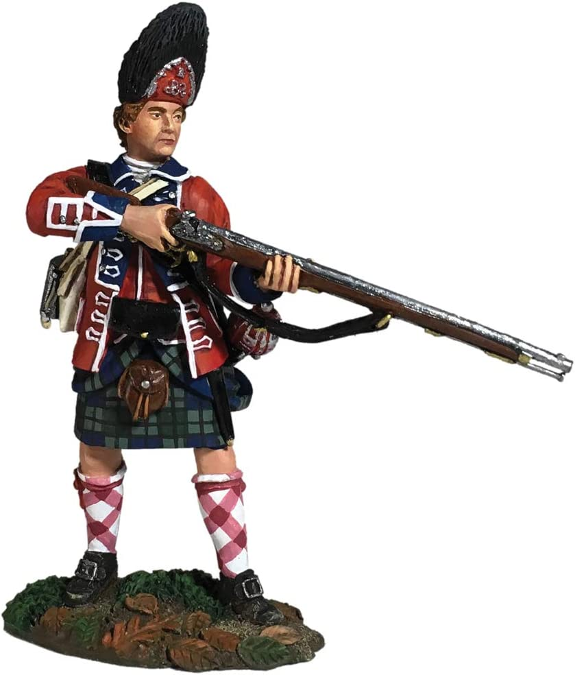 W Britain Toy Soldiers 36123 British 44th Foot Light Company Crouching Running