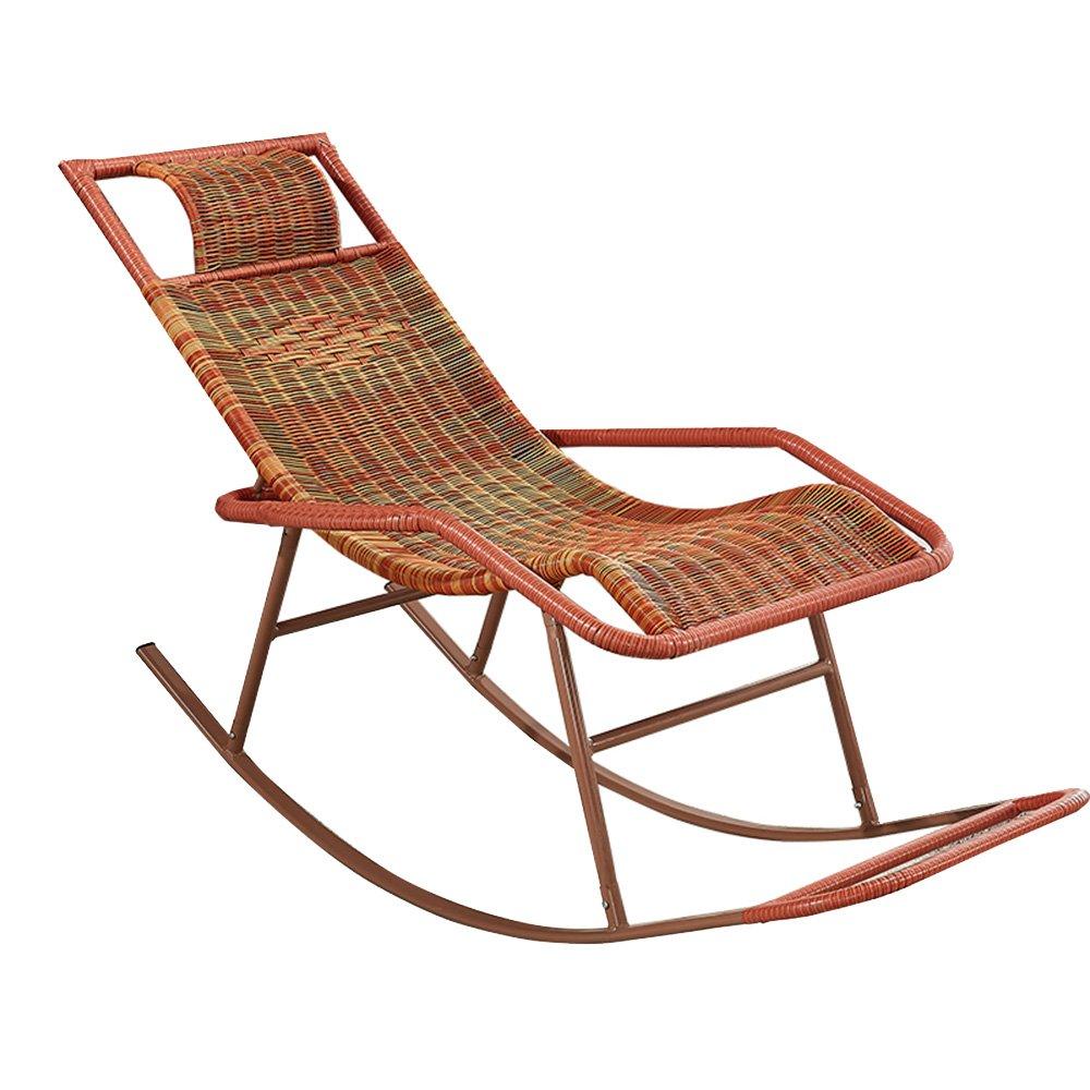 店舗良い KTYXDE ロッキングチェアの杖の椅子大人のシエスタラウンジのリビングルームのバルコニーの怠惰な椅子のイージーチェア高齢者のレジャーのロッキングチェア 折りたたみ椅子 : (色 A : A) A KTYXDE B07KY7B61B, セレクトショップ Sakura:e8faeaa0 --- arianechie.dominiotemporario.com