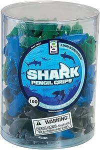 Shark Pencil Grip 100/Tub