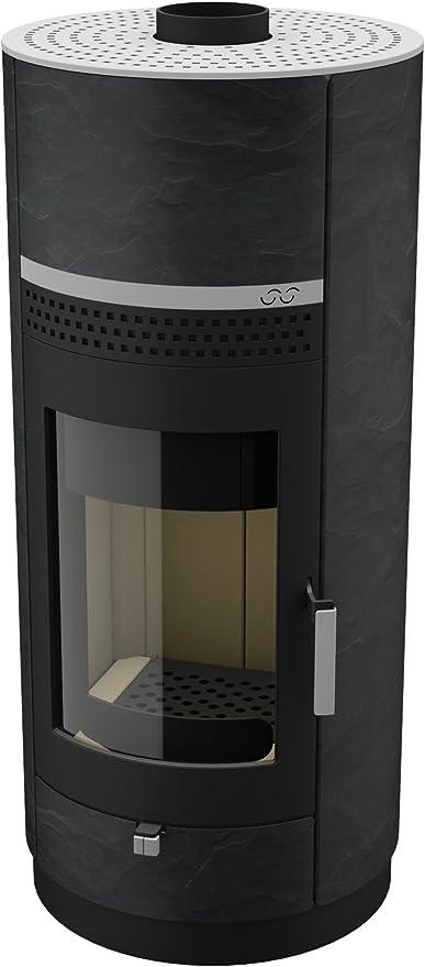 Estufa/horno de leña de madera-estufa Bock. com diseño Stone ...
