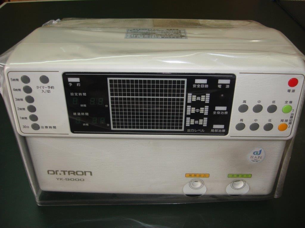 ドクタートロン B00FADLFCO 高圧電位治療器 YK-9000 ドクタートロン YK-9000 B00FADLFCO, アンティーク インテリア FeuFeu:f331aaed --- itxassou.fr