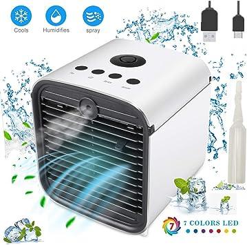 Nifogo Climatizador Evaporativo, Aire Acondicionado Ventilador ...