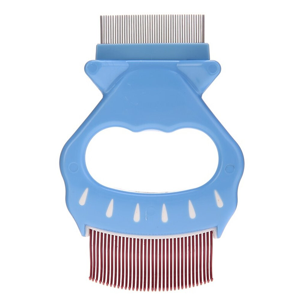Pet Brushes Dog Special Comb Pet Brush Hair Removal Dual-use Cats and Dogs Universal Needle Comb Hair Removal Period for Hard Comb Teeth
