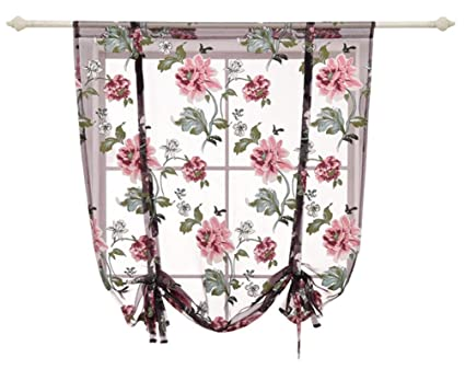 HomeyHo Sheer Curtain Fabric Curtain Semi Sheer Curtains For Bedroom Window  Curtains Sheer Pattern Sheer Curtains For Bedroom Girls Bedroom Curtains ...