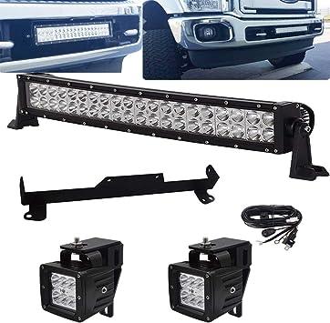 2pcs 7/'/' Led Spot Off road Light Bar For ford excursion 2000 led parking lights