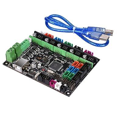 MKS GEN L V1.0 - Placa de controlador para impresora 3D compatible ...