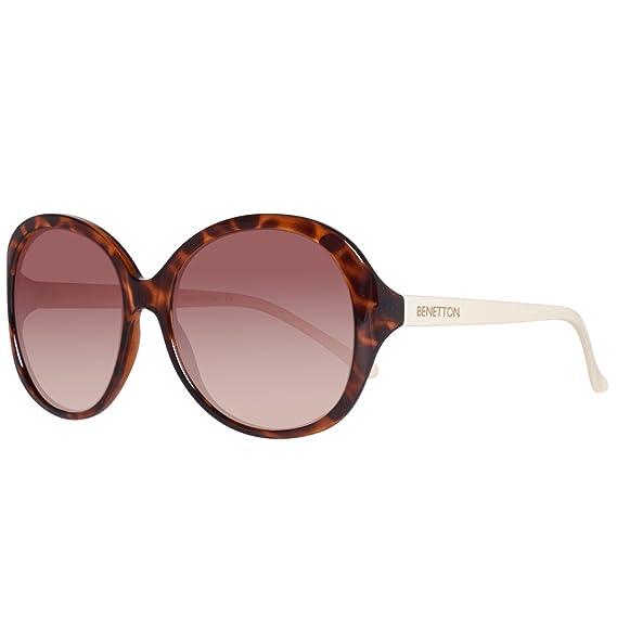 BENETTON BE984S02, Gafas de Sol para Mujer, Trtois/Ivory, 56 ...