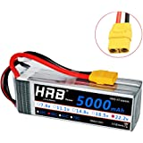 HRB 5000mAh 50C 6S 22.2v RC Lipo Battery XT90 Plug for DJI Align T-REX550/600 Airplane RC Quadcopter Airplane Helicopter Car Truck