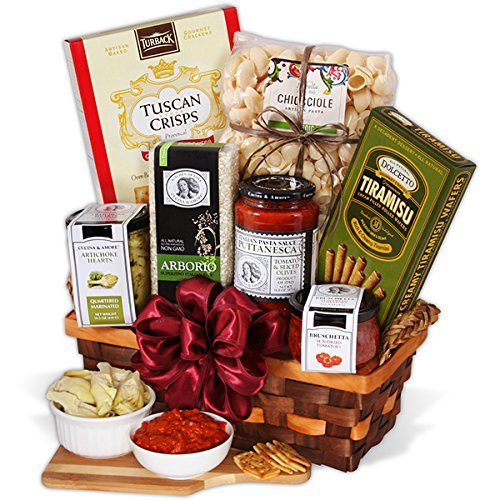 Table In Tuscany - Italian Gift Basket (Gift Baskets Of Italian Foods)