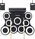 PAXCESS 9 Pads Electronic Drum Set – Best for realistic drum set sound