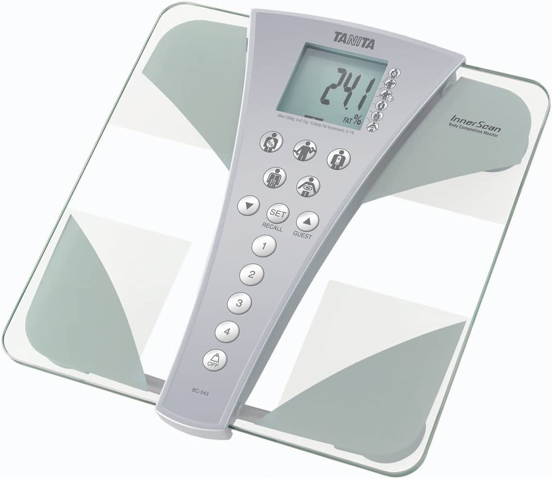 (TANITA) InnerScan Body Composition Monitor (BC-543): Home & Kitchen