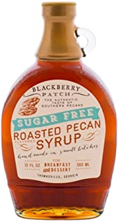 product image for BLACKBERRY PATCH Syrup Roasted Pecan No Sugar Added, 12 OZ
