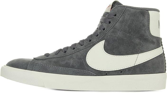 bombilla Mirar Original  Nike Blazer Mid Suede Vintage, Zapatillas Altas para Mujer, Gris (Gr Gr),  41 EU: Amazon.es: Zapatos y complementos