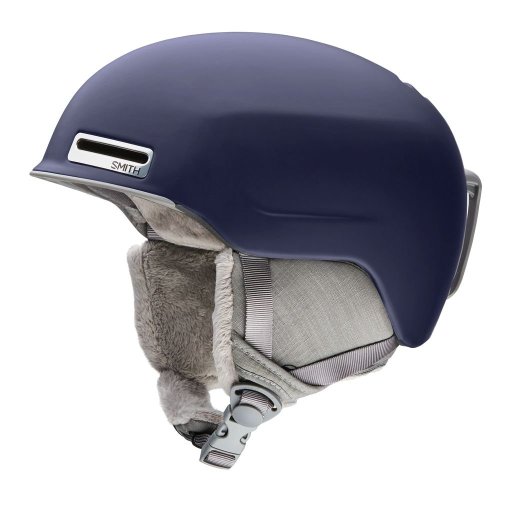 Smith Optics Allure Adult Ski Snowmobile Helmet - Matte Midnight/Large