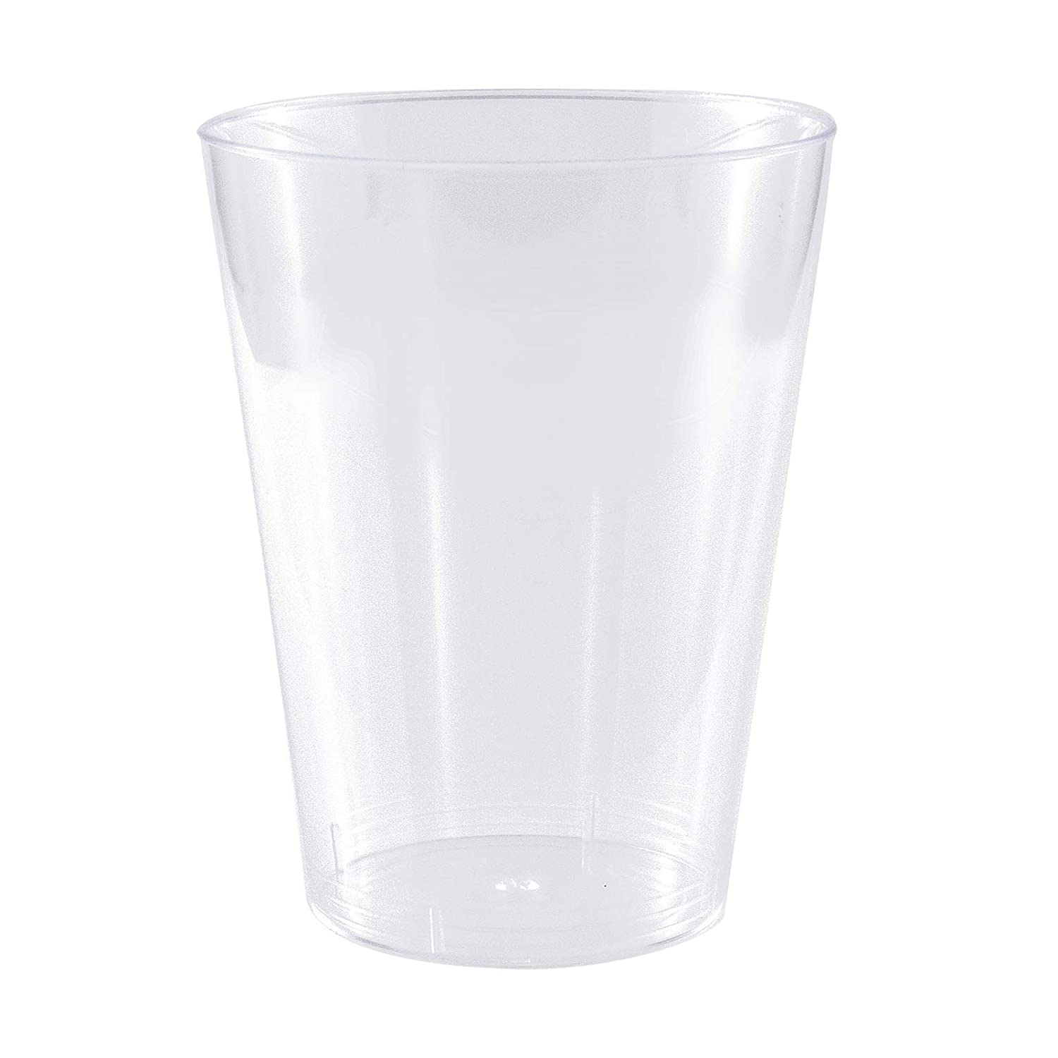 Plastic Tumblers/Glasses Hard Disposable Quality 200ml - Party Goods 40 Pack MASHERS
