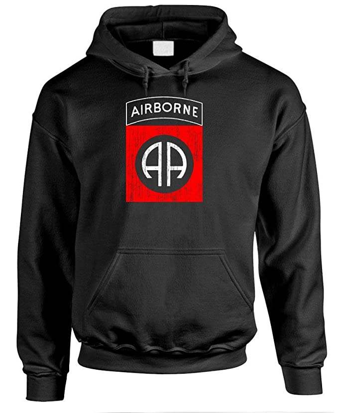 MEANGEAR - 82ND AIRBORNE - Mens Pullover Hoodie
