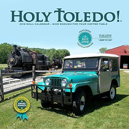 2018 Holy Toledo! Wall Calendar