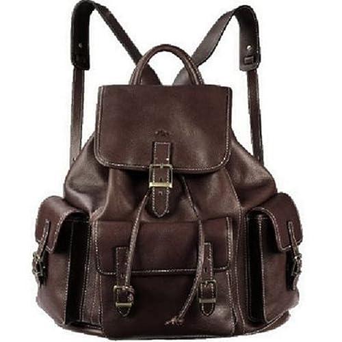 f8bd7c9f156 Katana - Bolso mochila de Piel para mujer Marrón chocolate  Amazon.es  Ropa  y accesorios