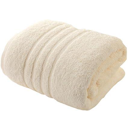 Toalla de baño suave Toallas de algodón Algodón y el otoño y el invierno gruesas toallas ...