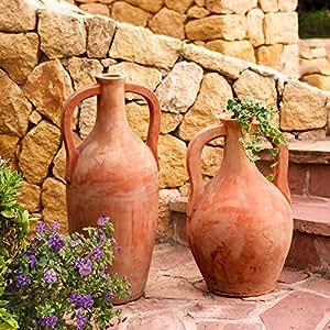 Terracota de amphoren attika & Naxos, 2unidades)