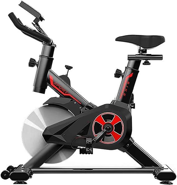 BHB-AY Ultra silencioso Bicicleta estática de Spinning,Monitor LED ...