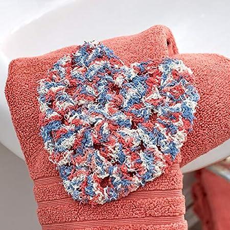Red Heart E833.0987 Scrubby Yarn Americana