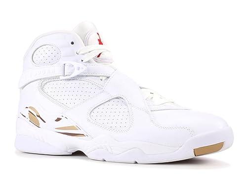 78e3d12adff Amazon.com | NIKE Air Jordan 8 VIII OVO White AA1239-135 US Size 13 |  Basketball