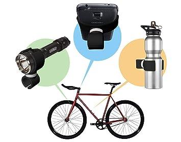 Soporte Huawei P9 lite bici soporte linterna bicicleta soporte botella bicicleta soporte linterna bici soporte linterna manillar soporte linterna para bicicleta soporte botella agua bicicleta negro: Amazon.es: Electrónica