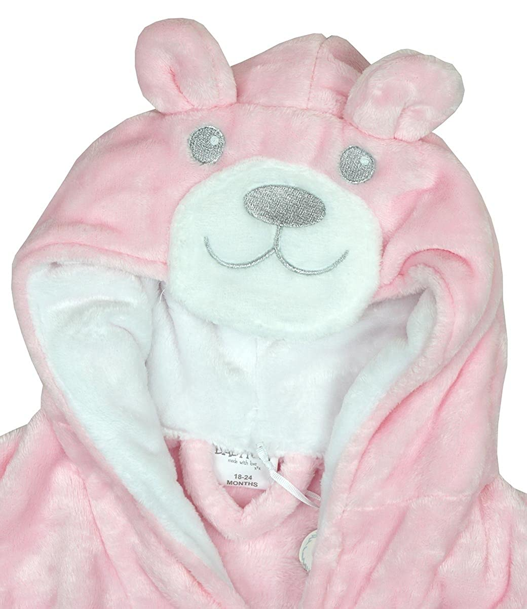 Baby Dressing Gown Super Soft Plush Fleece from 6 months to 18 ...