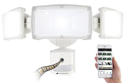 VISORTECH Cámara para la puerta del hogar, HD, IP, para vigilancia, con