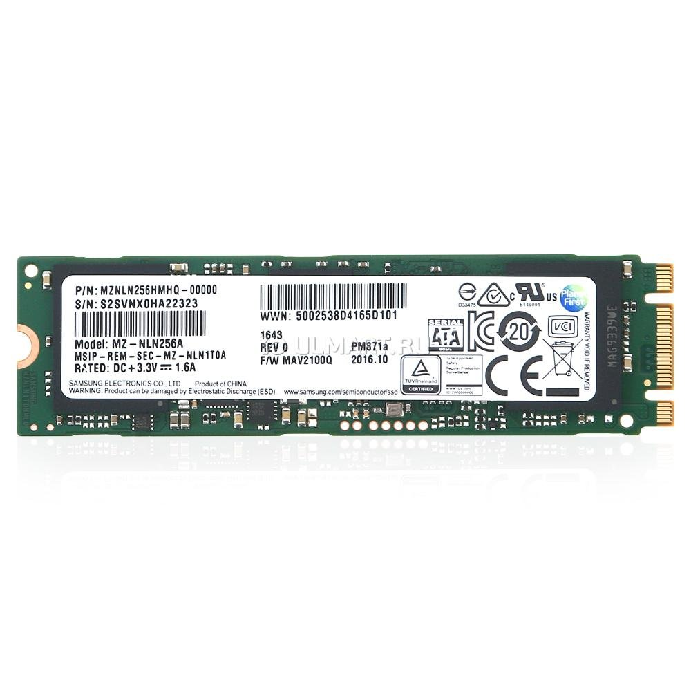 Samsung (MZNLN256) 256GB Internal SSD