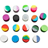 Gentcy Silicone 3ML100pcs Silicone Container Concentrate Oil Wax Dab for lip Balm and Creams $ 0.27/pcs 18Colour