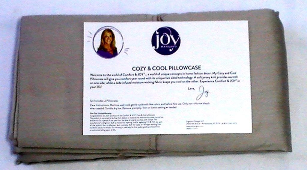 Comfort & JOY® Warm & Cool Jumbo Pillowcases - Linen Driftwood