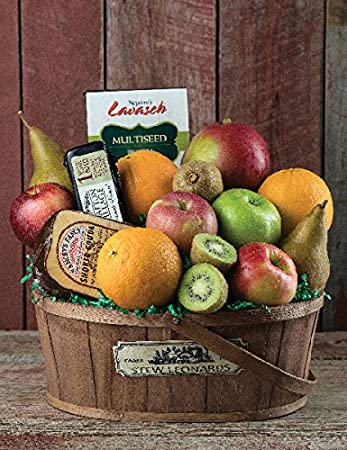 Amazon jumbo cheese fruit gourmet gift basket from stew jumbo cheese fruit gourmet gift basket from stew leonards gifts negle