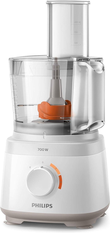 Philips HR7320/00, 700 W, SAN, Blanco: Amazon.es: Hogar