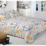 Driftwood Ship Ahoy! Nautical Duvet Cover Set, Multi (King) by Driftwood