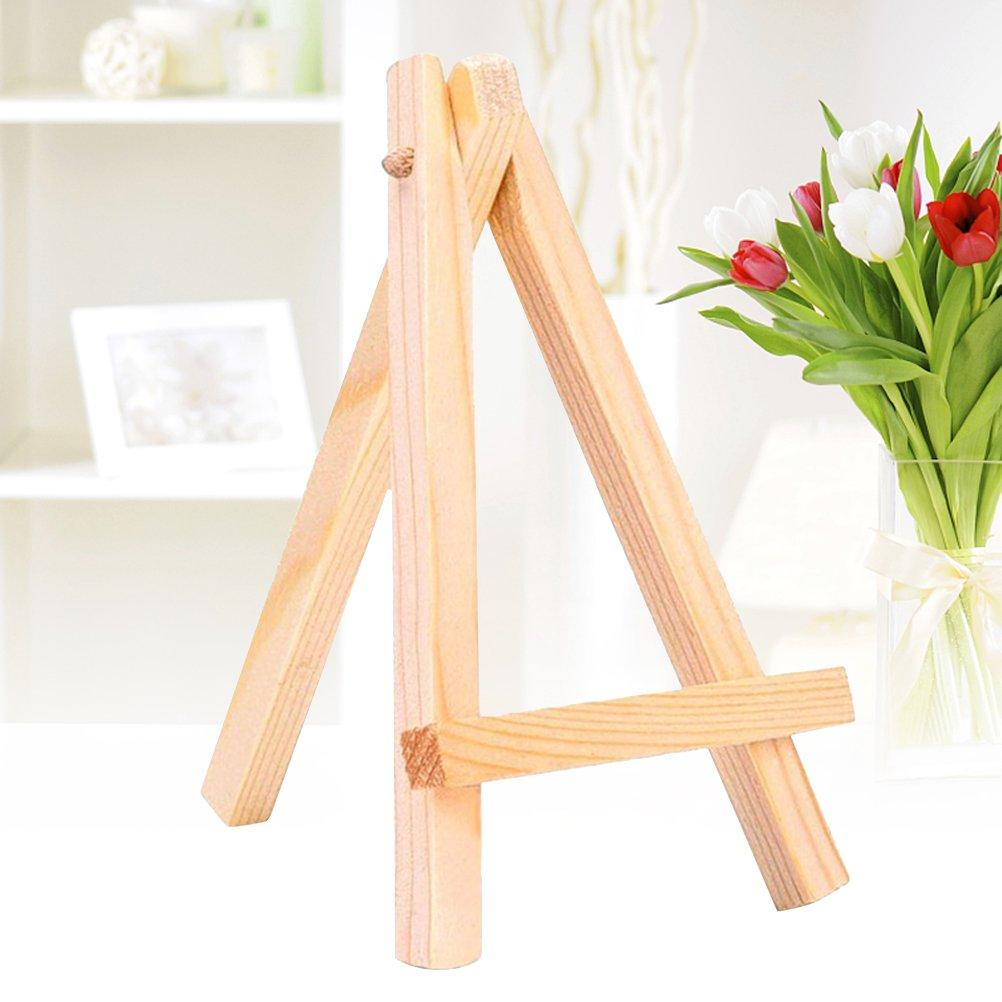 Amazon.de: ultnice Mini Holz Display Staffelei für Craft Zeichnen ...