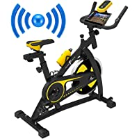 Nero Sports Bluetooth spinning aerobic hometrainer indoor training fitness cardio spin fiets hartslagmeter niveau ..