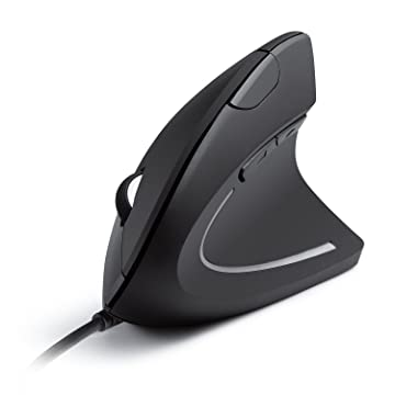 anker 2.4g wired vertical mouse