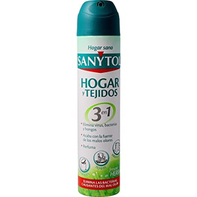 Sanytol - Ambientador Desinfectante de Tejidos en Spray, 300 ml