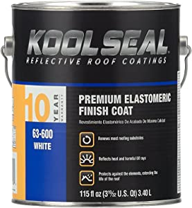 KST COATING KS0063600-16 Roof Coating, 0.9 Gallon