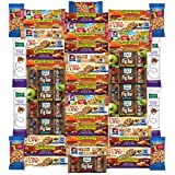 Ultimate Healthy Bar & Snacks Variety Pack Bulk Sampler (50 Count)