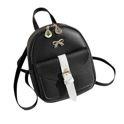 Pink Waiimak Girl Lightweight Small Ladies Handbags Shoulder Crossbody Bags Cell Phone Purse Leather for Women