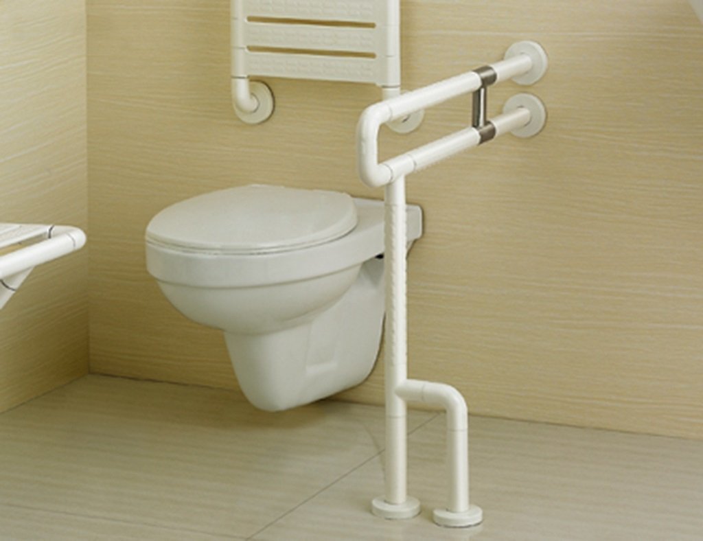 ノンスリップアクセス可能な手すり老人障害者バスルームハンドル (サイズ さいず : 75 cm 75 cm) B07D6FVFW5 75 cm 75 cm  75 cm 75 cm