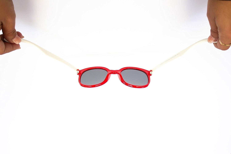 Polarizzati per la massima protezione per bambini dai 3 ai 10 anni 8181 Materiale in silicone SFY Occhiali da sole flessibili per bambini
