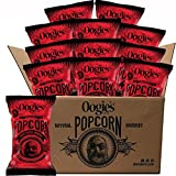 Oogie's Spicy Nacho Cheddar Gourmet Popcorn 4.25oz bag (Pack of 12)