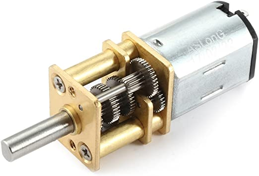 15RPM DC 6V Gear Box Electric Motor High Torque 1:1000 for Toy Car Model Reduction Gearbox 10//15//20RPM
