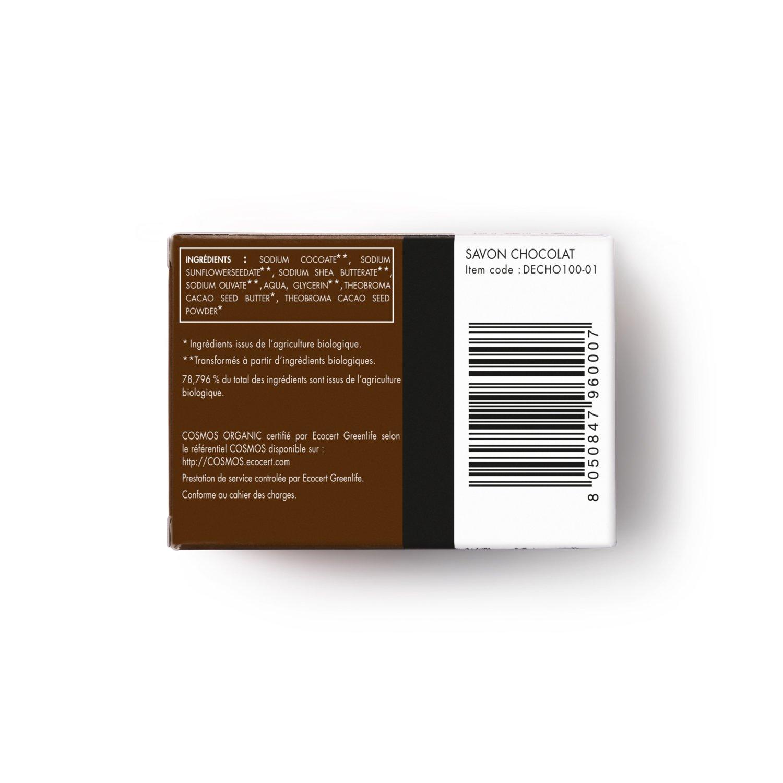 ... de Chocolate Certificado orgánico por Ecocert - Jabón de Manteca de Cacao - Jabón Sin Sulfatos ni Ingredientes Tóxicos que Suaviza tu Piel y Relaja tus ...
