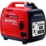 Honda 2,000 Watt Quiet GFCI Portable Gas Powered Backup Home Generator - EB2000i